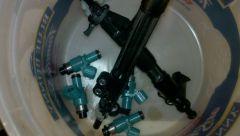 Fuel rails and fuel injectors