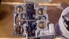 Removed the throttle body