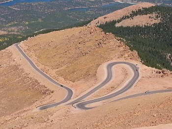 Pike's Peak fully paved in 2012