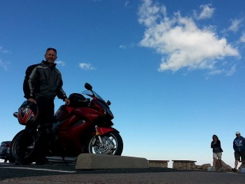 Truly on top of the world for the second time today! Ride to 14,130 - climb the last 141 feet on your own!