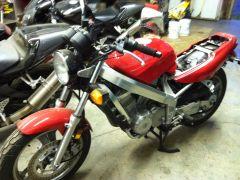 My OTHER Bike - 1990 Honda Hawk NT650