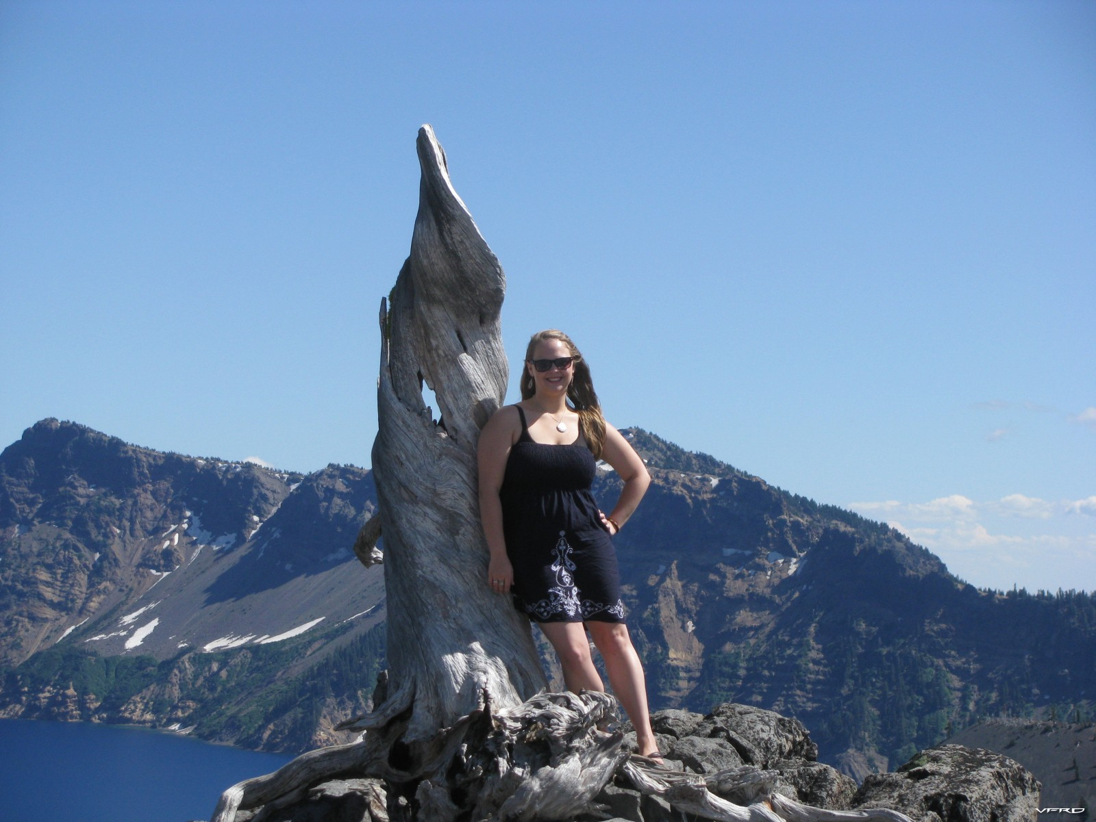 Crater Lake Stop