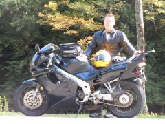 Me and my '94 VFR at 100k Miles