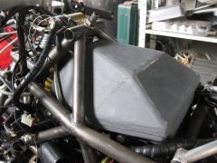 Airbox Pattern for fibreglassing.