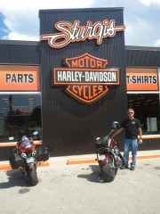 What Happens When You Ride With a Guy on a Harley