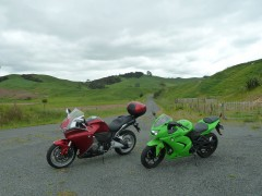 My first ever VFR, 130 km day loop Central Waikato, NZ