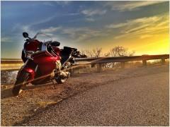 VFR Decker Canyon Sunset