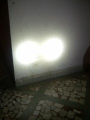 01. Fork Light   LED   beam On The wall