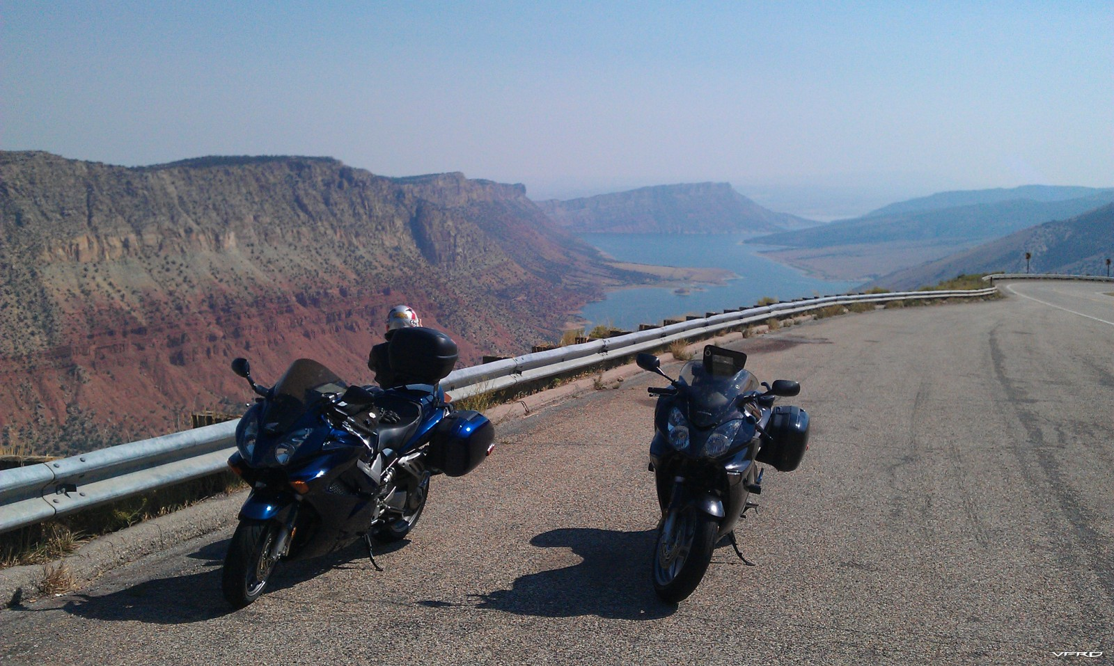 Flaming Gorge with CVVFR and didit bikes en route