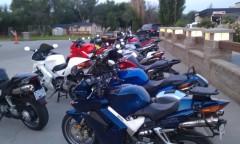 Row, Row, Row of Bikes