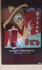 Red Ale on tap Thurs night.  Horsefly Brewing treated us right