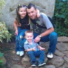 Me and my babies at the zoo