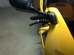 Levers and Mirror Extenders - right