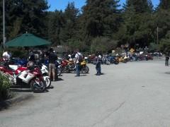 Typical Sunday at La Honda, CA  (84/35 Junction)