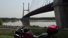 The Mississippi river at Cape Girardeau