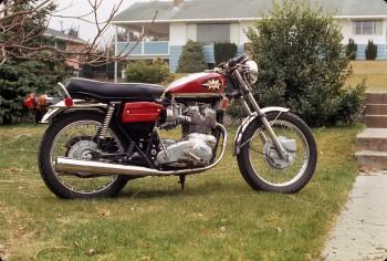 1972 BSA Rocket 3