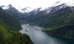 Geiranger Fjord, Norway 2012