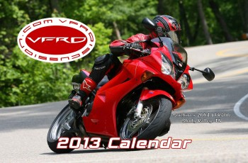 2013 VFRD Calendar Cover