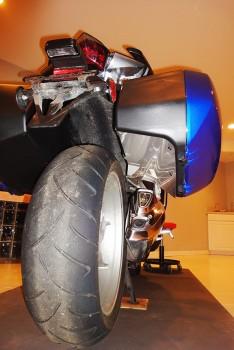 2012 1200f OEM Hard Bags - Heat Shield