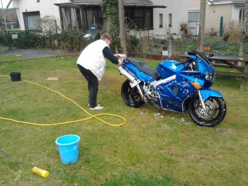 VFR wash after Spa