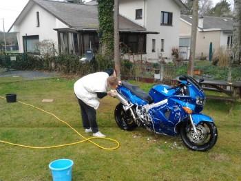 VFR wash after Spa2