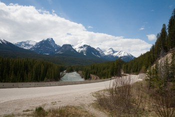 Bow Valley Parkway, May 2013