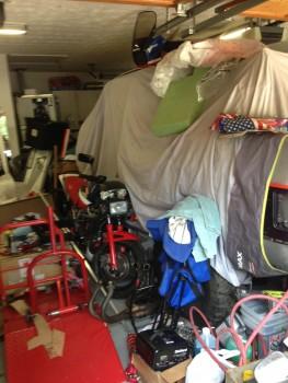 Gotta make room for some bike maintenance