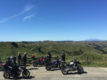 Forgotten Highway, New Zealand. - views across the Central Plateau