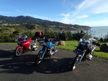 Midwinter, Raglan, NZ - the Wainui Reserve