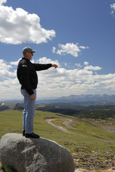 7 Tony atop Beartooth Pass south