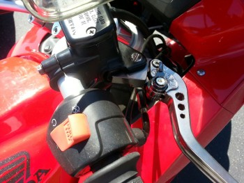 Throttle, brake cables