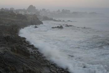 11 crashing waves