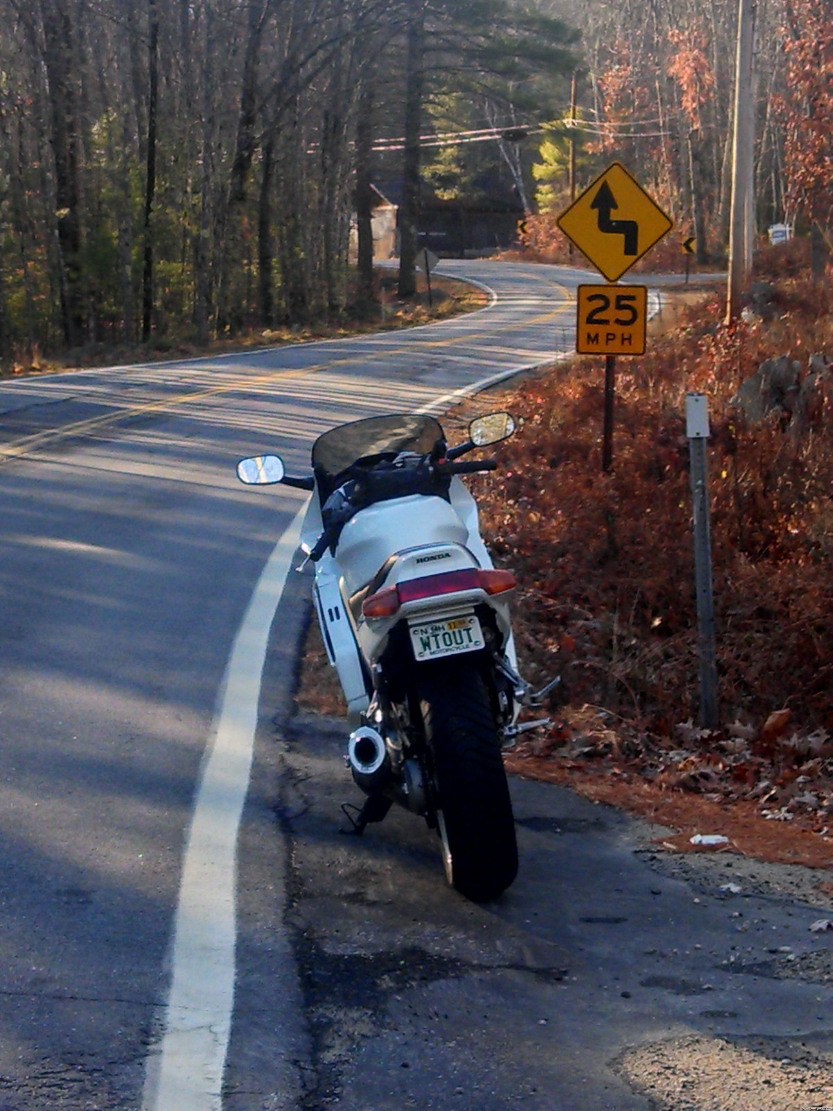 Two wheeled vehicles, double the speed limit