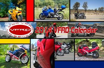 2014 VFRD Large Calendar Cover
