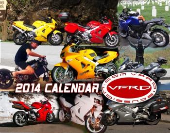 2014 VFRD Small Calendar Cover