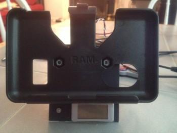 Voltmeter install