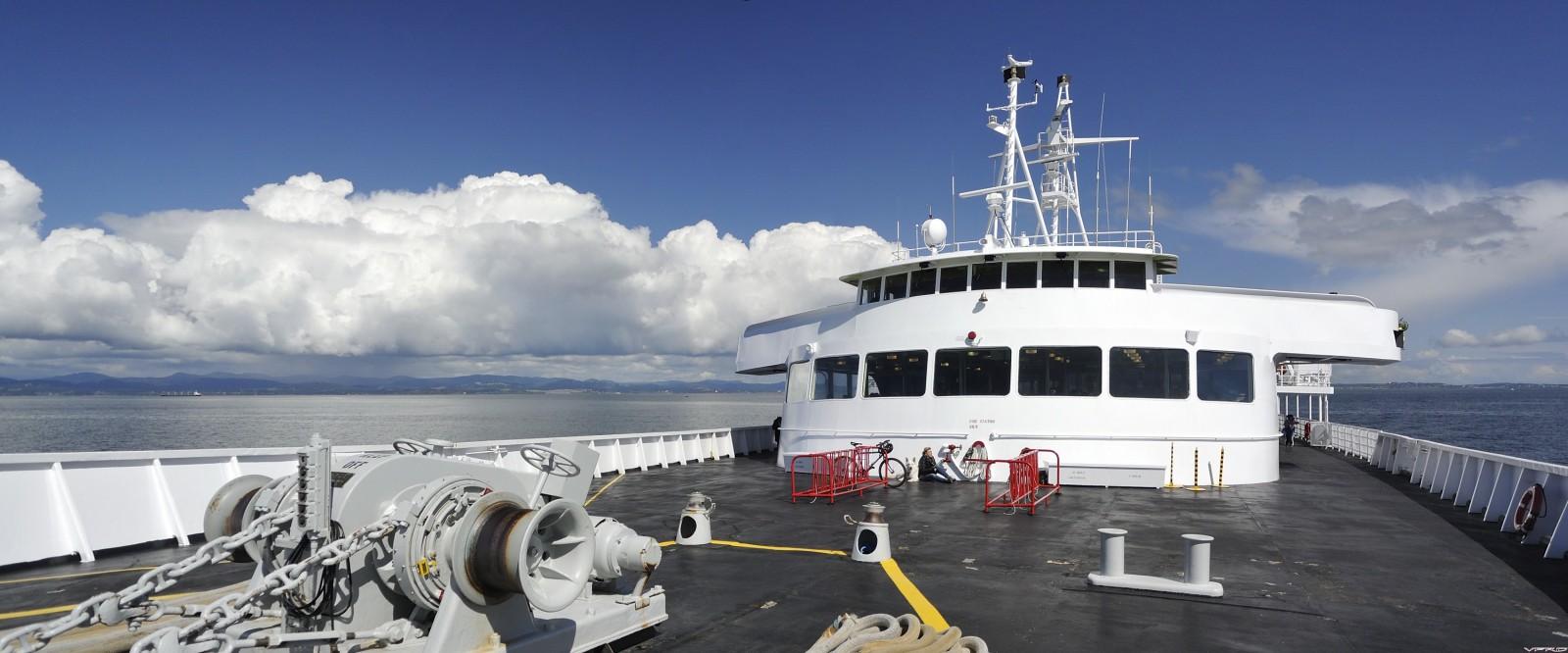 02 - leaving Victoria aboard MV Coho