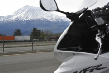 05 - looking at Mt Shasta from I-5