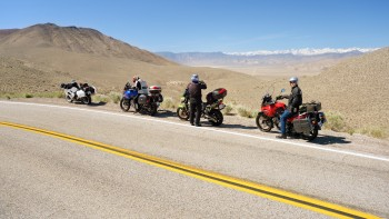 24 - the Odd Squad on Gilbert Pass, Hwy 168 Cal