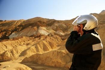 50 - an artiste at Artist's Palette, Death Valley