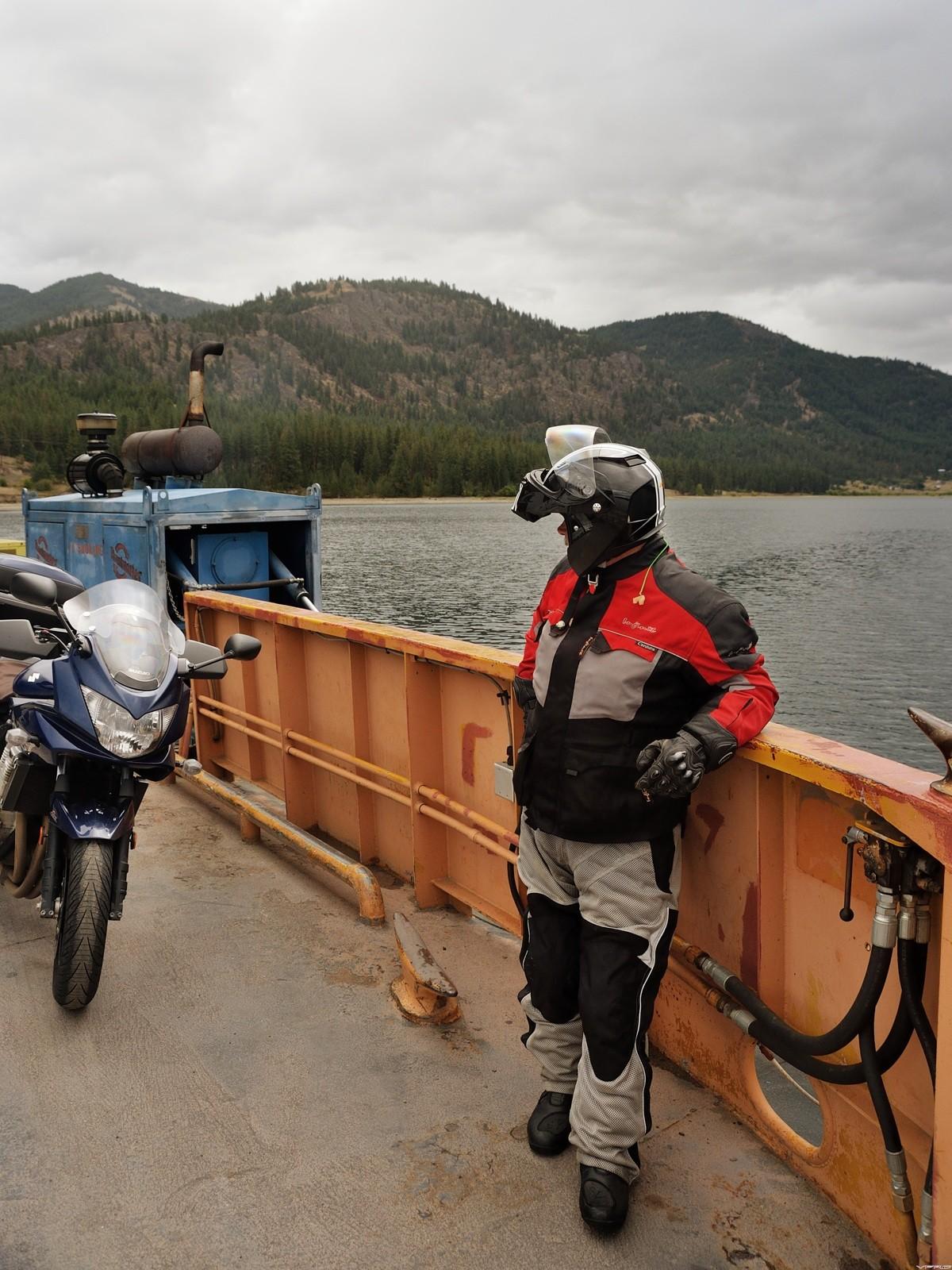 38 Doug aboard Gifford ferry