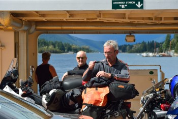 20 Tony and Peter on the Balfour ferry