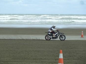 Burt Munro 2014 - VFR Beach Racer