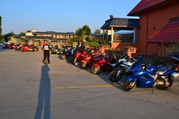 morning parking Lot