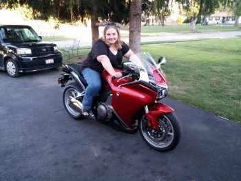 Wife On My VFR1200