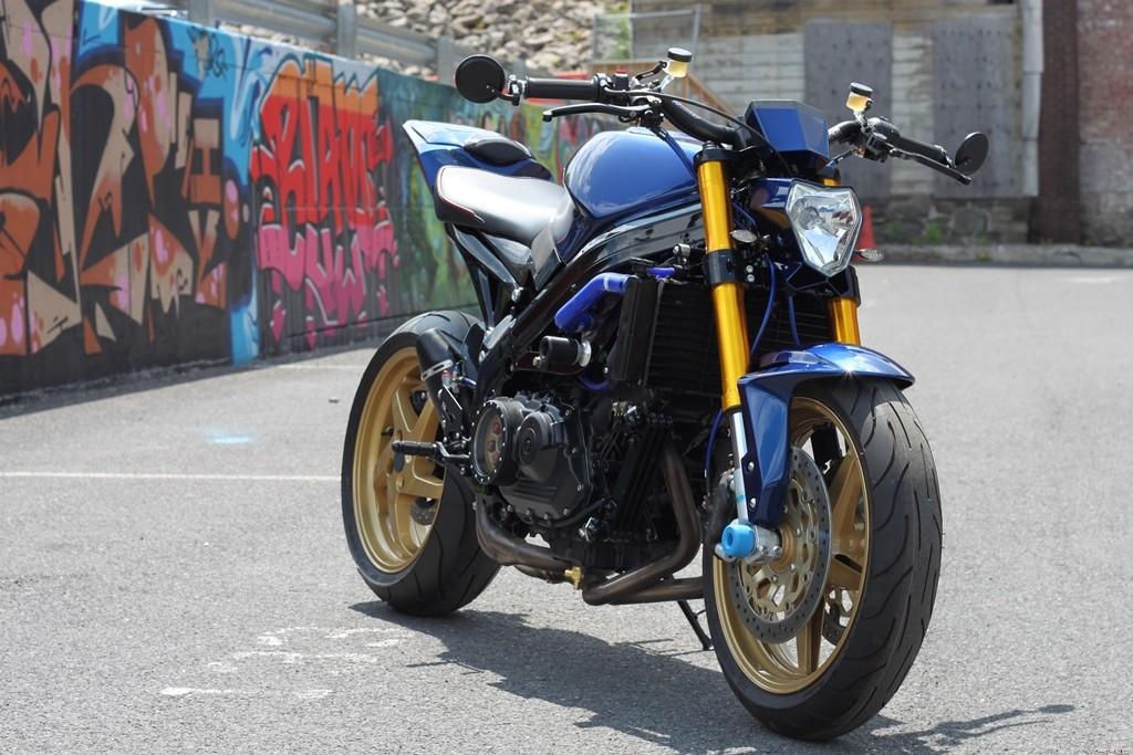 Honda VFR 800 streetfighet, custom, naked, specia tuning