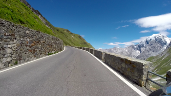 Stelvio Pass Ascent from North