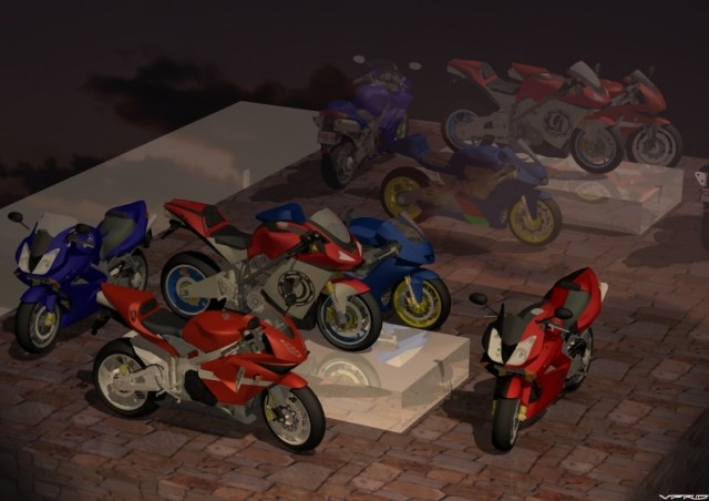 a collection of my CAD bikes