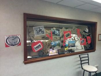 Front desk decor