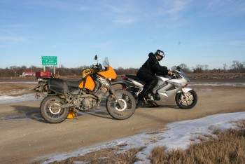 December 6, 2015 Ride to Lac du Bonnet